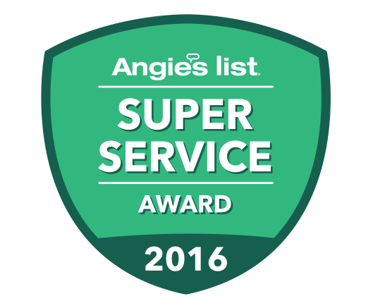 Angie's List Super Service Awards – Years Won: 2016, 2015, 2014, 2013, 2012, 2011, 2010, 2009, 2008, 2007, 2006, 2005, 2004